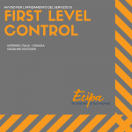 FIRST LEVEL CONTROL