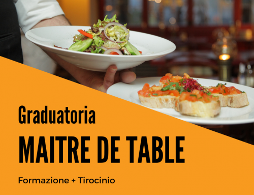 NEW! | Graduatoria MAITRE DE TABLE FINALE