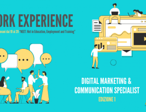 WORK EXPERIENCE | UNDER 30 | DIGITAL MARKETING & COMMUNICATION SPECIALIST – EDIZIONE 1