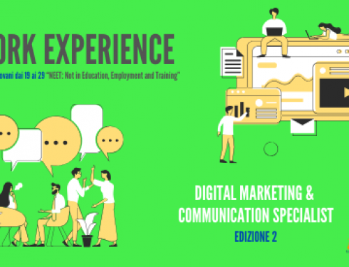 RIAPERTURA BANDO | WORK EXPERIENCE | UNDER 30 | DIGITAL MARKETING & COMMUNICATION SPECIALIST – EDIZIONE 2