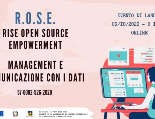Evento di lancio | Progetto ROSE | Imprenditorialità femminile