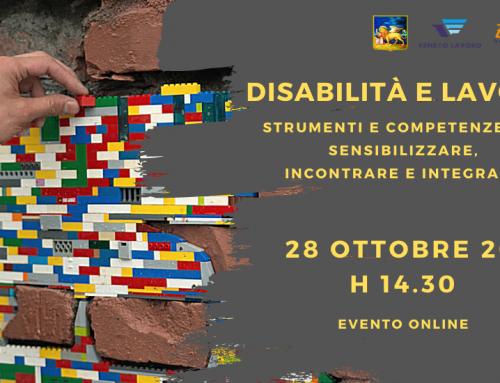 Seminario | Disabilità e lavoro: strumenti e competenze per sensibilizzare, incontrare e integrare