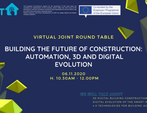 JOINT ROUND TABLE | Building the future of construction: automation, 3D and digital evolution