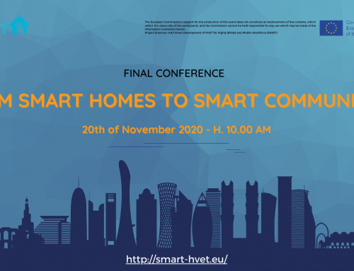 FROM SMART HOMES TO SMART COMMUNITIES | SHVET Project Final Conference