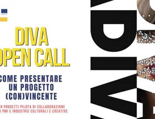 DIVA Open Call | Webinar | Come presentare un progetto (con)vincente